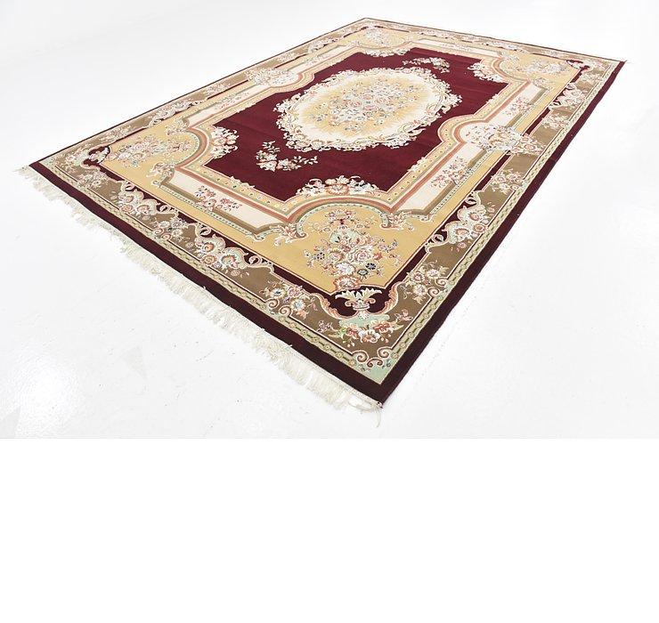 8' x 11' 6 Tabriz Design Rug