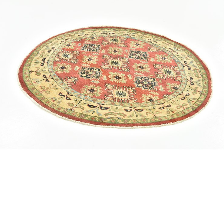 152cm x 152cm Kazak Round Rug