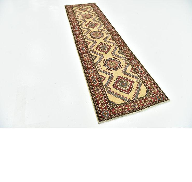 2' 8 x 9' 9 Kazak Runner Rug
