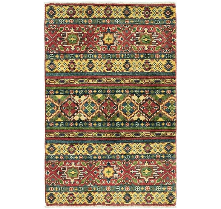 3' x 4' 10 Kazak Rug