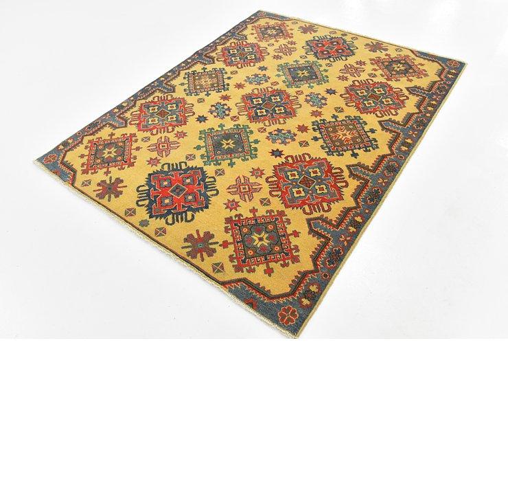 6' 7 x 7' 3 Kazak Square Rug