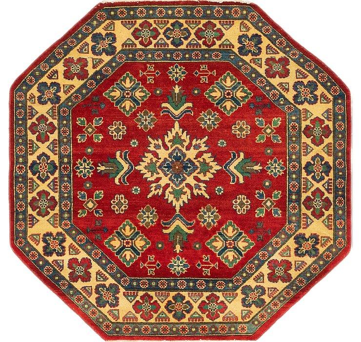 5' x 5' Kazak Octagon Rug