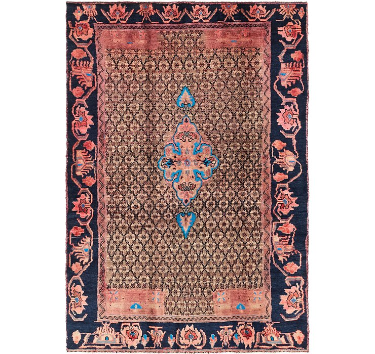 4' 5 x 6' 7 Koliaei Persian Rug
