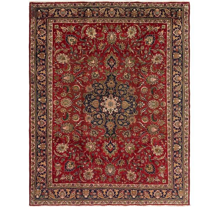 9' 6 x 12' 4 Tabriz Persian Rug