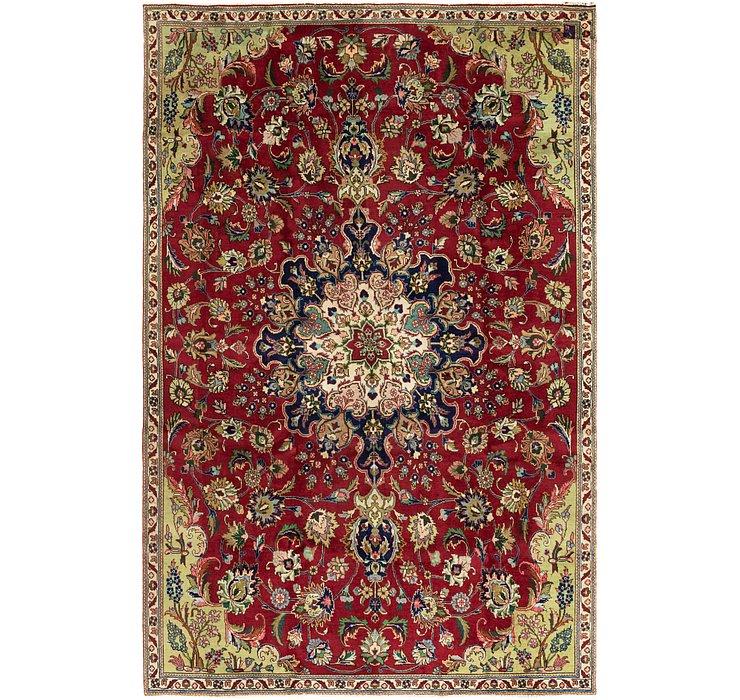 7' 2 x 10' 7 Tabriz Persian Rug