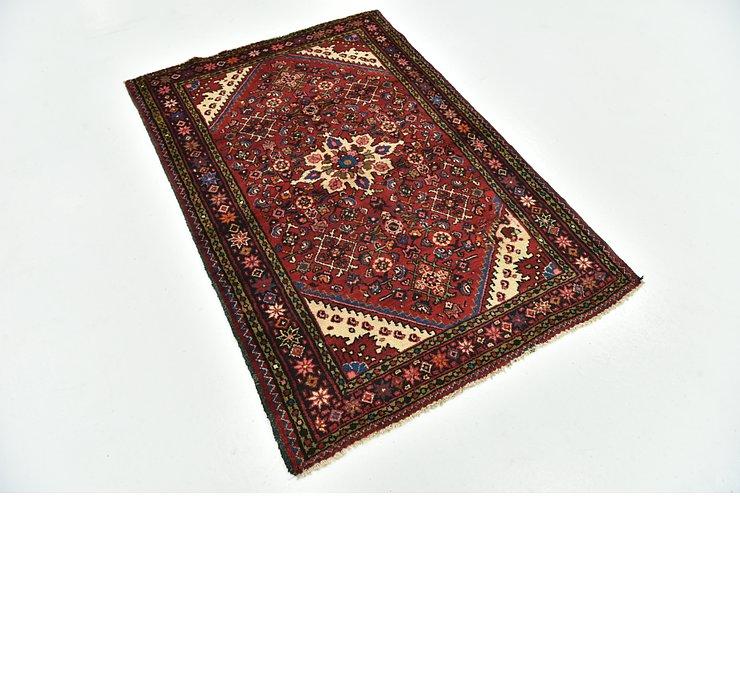 110cm x 163cm Hossainabad Persian Rug