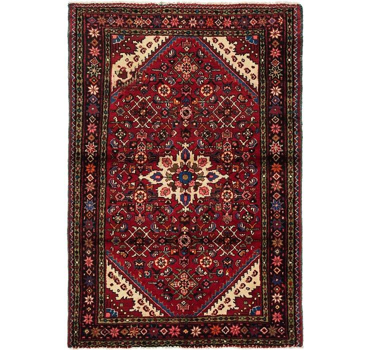 3' 7 x 5' 4 Hossainabad Persian Rug