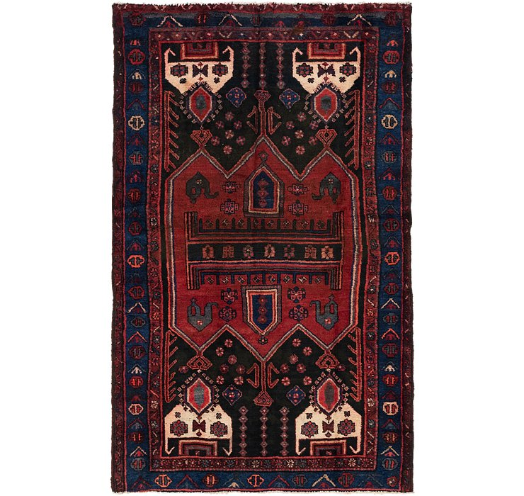4' 3 x 7' 2 Koliaei Persian Rug
