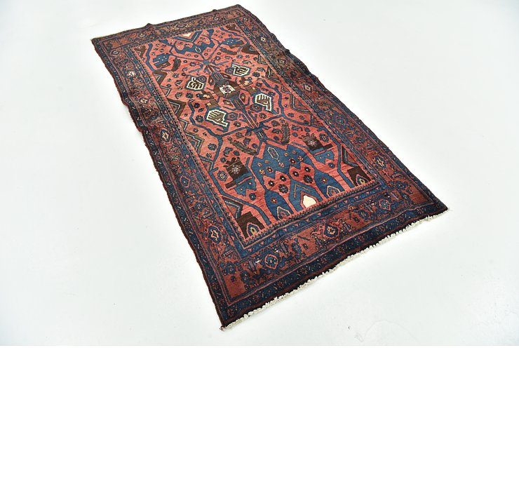 3' 9 x 7' 2 Hamedan Persian Rug