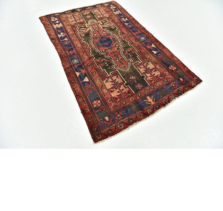 4' 4 x 6' 9 Hamedan Persian Rug