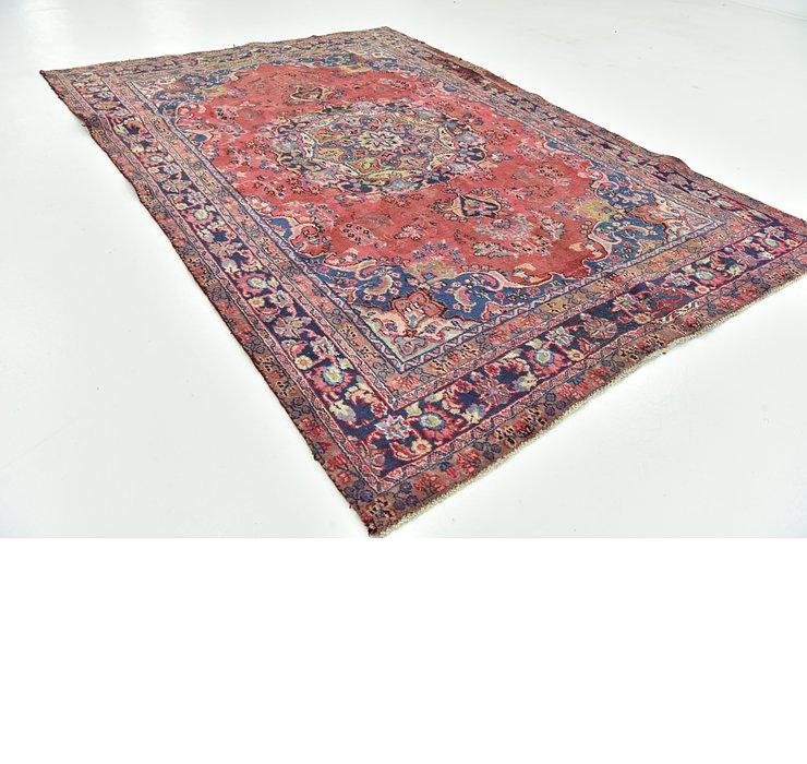 6' 2 x 9' Mashad Persian Rug