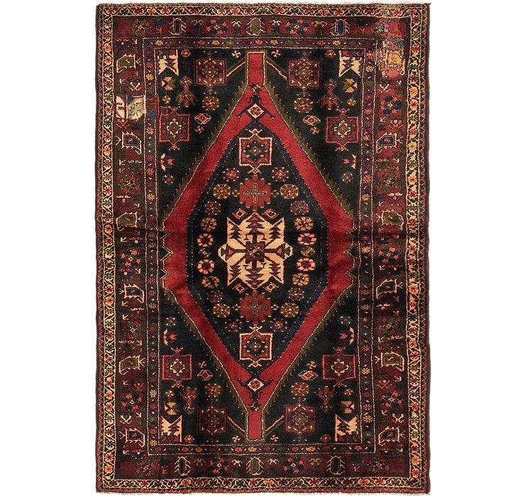 145cm x 208cm Hamedan Persian Rug