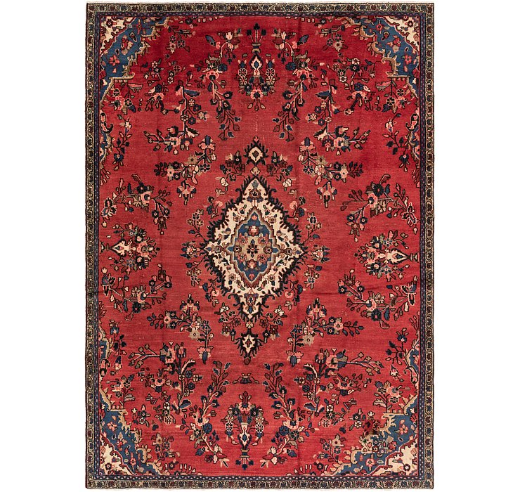 8' x 11' 2 Shahrbaft Persian Rug