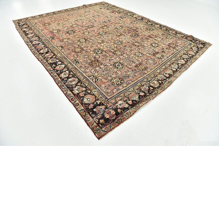 9' x 11' 2 Mahal Persian Rug