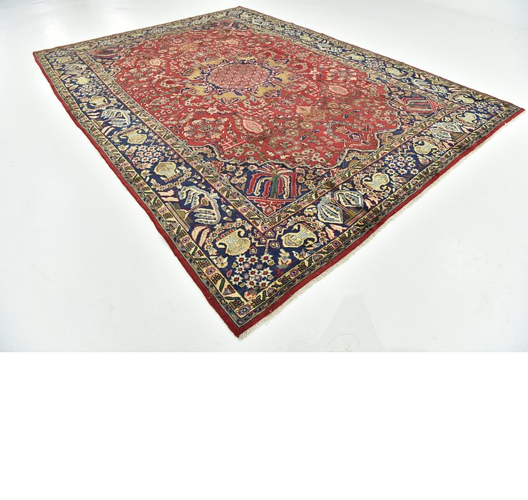 9' 3 x 12' 9 Isfahan Persian Rug