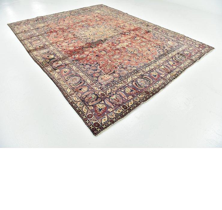 9' 7 x 12' 2 Mashad Persian Rug