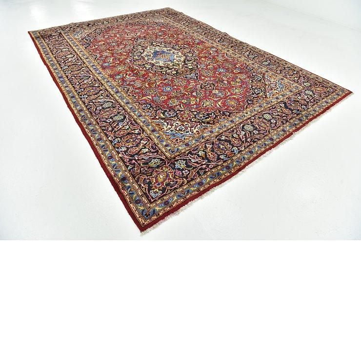 8' 6 x 12' Kashan Persian Rug