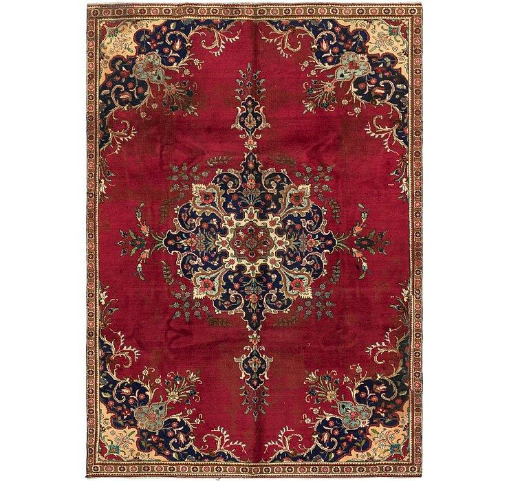 7' x 10' 3 Tabriz Design Persian Rug