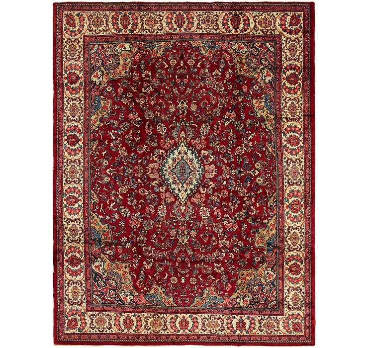 10' 8 x 14' Meshkabad Persian Rug