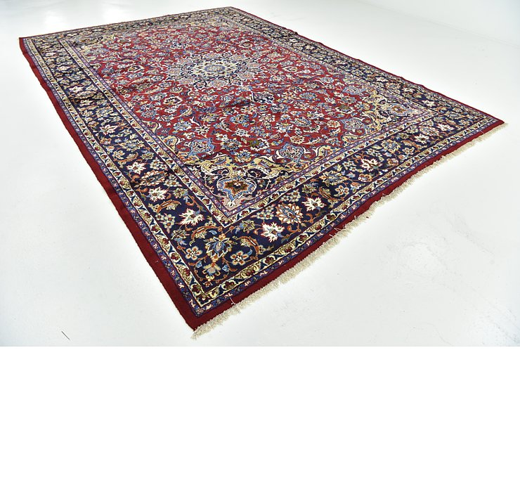 9' 8 x 13' 10 Isfahan Persian Rug