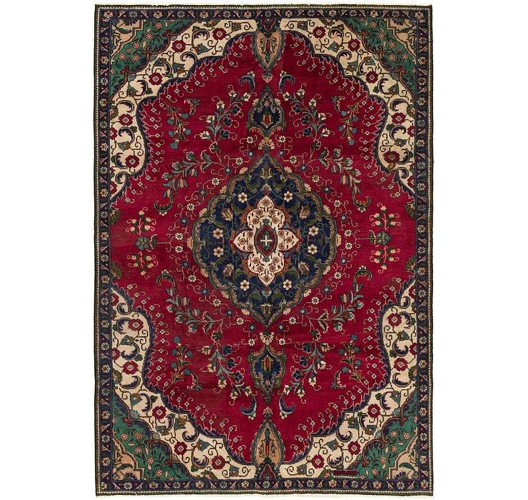6' 1 x 9' 3 Tabriz Persian Rug