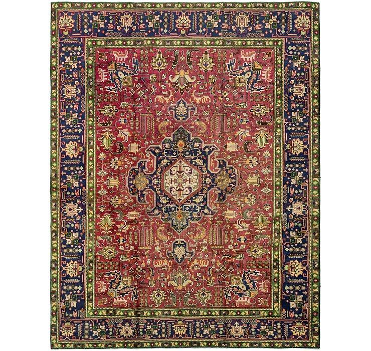 9' 6 x 12' 3 Tabriz Persian Rug