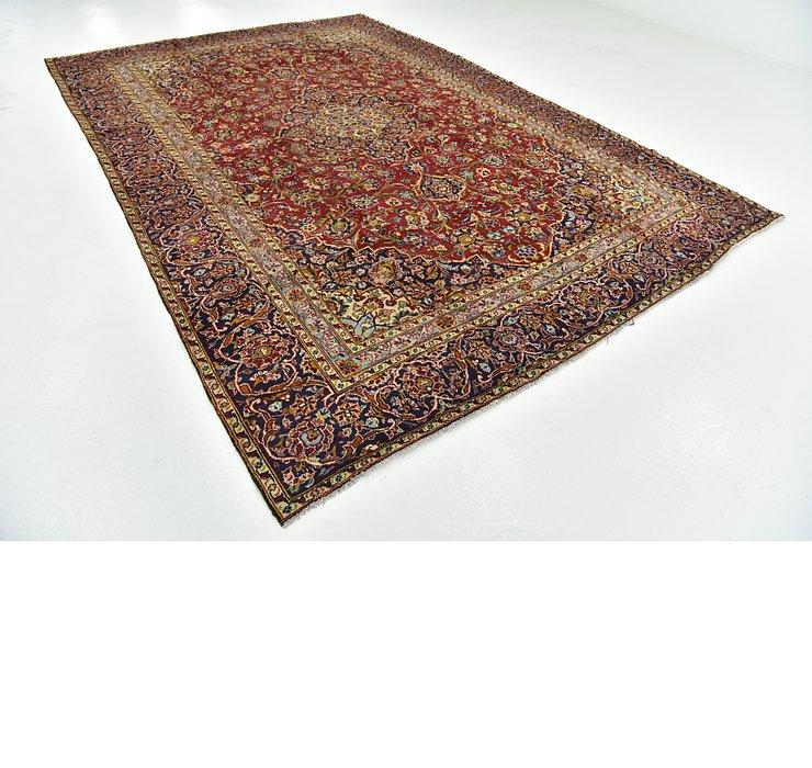 8' 8 x 13' Kashan Persian Rug