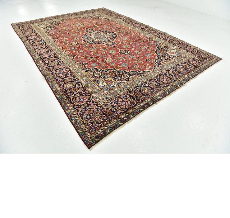 8' 9 x 11' 10 Kashan Persian Rug