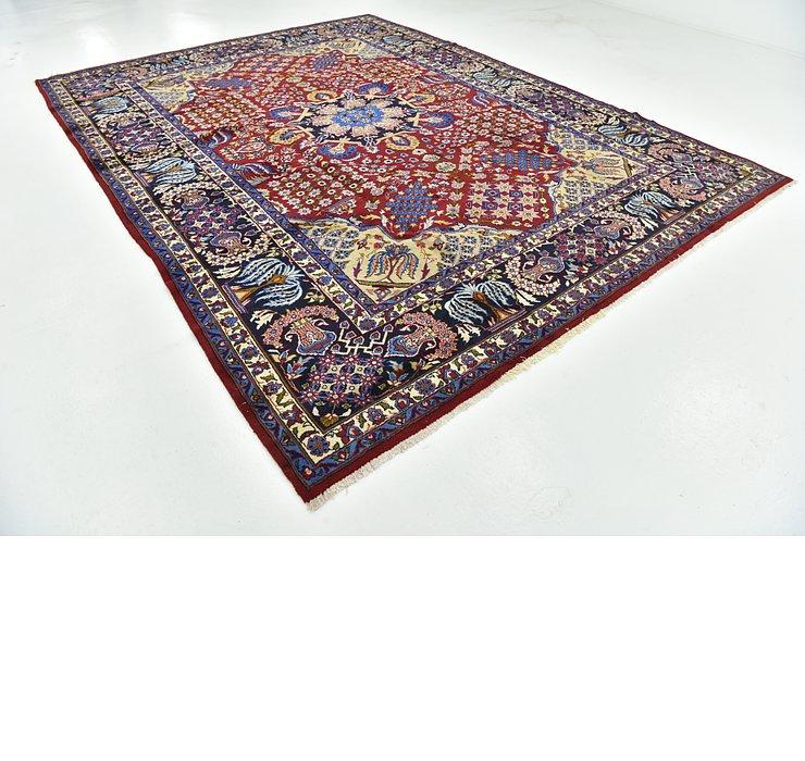 9' 9 x 13' Isfahan Persian Rug