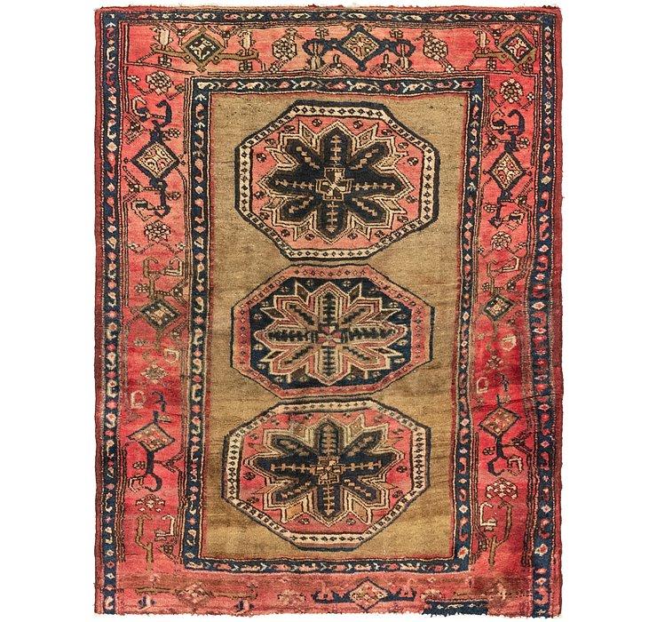 4' 6 x 5' 9 Koliaei Persian Rug