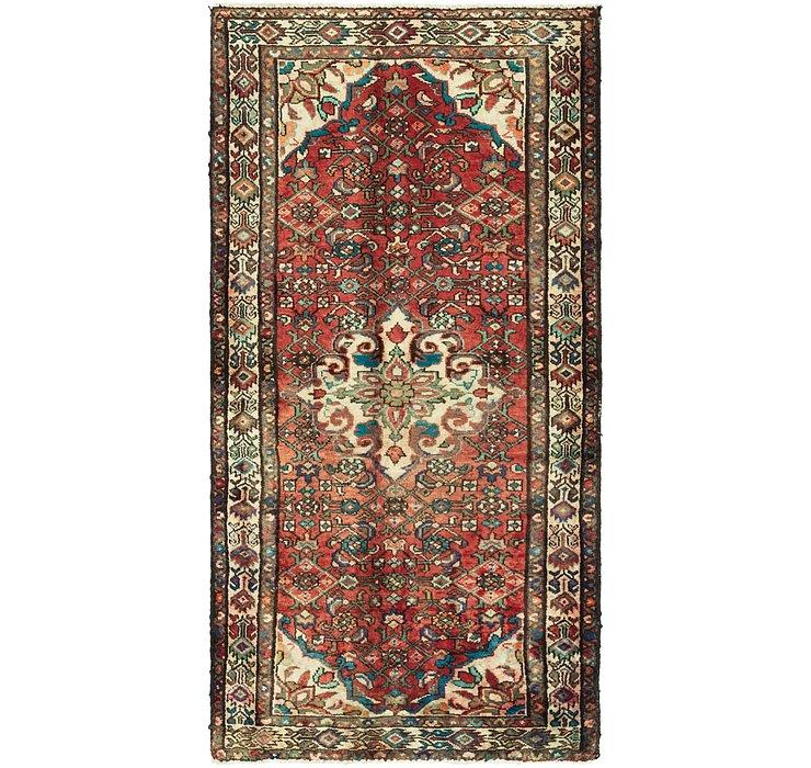 3' 4 x 6' 7 Hossainabad Persian Rug
