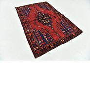 Link to 152cm x 220cm Mazlaghan Persian Rug