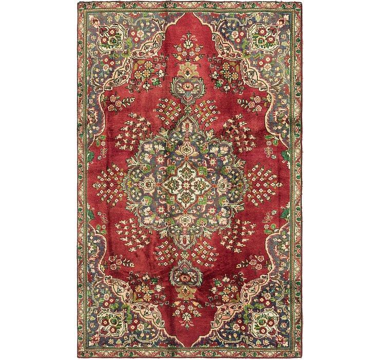 5' x 8' 2 Tabriz Persian Rug