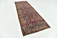 Link to 127cm x 365cm Hossainabad Persian Runner Rug