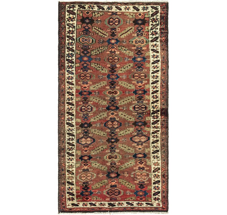 3' 10 x 7' 4 Shiraz-Lori Persian Rug