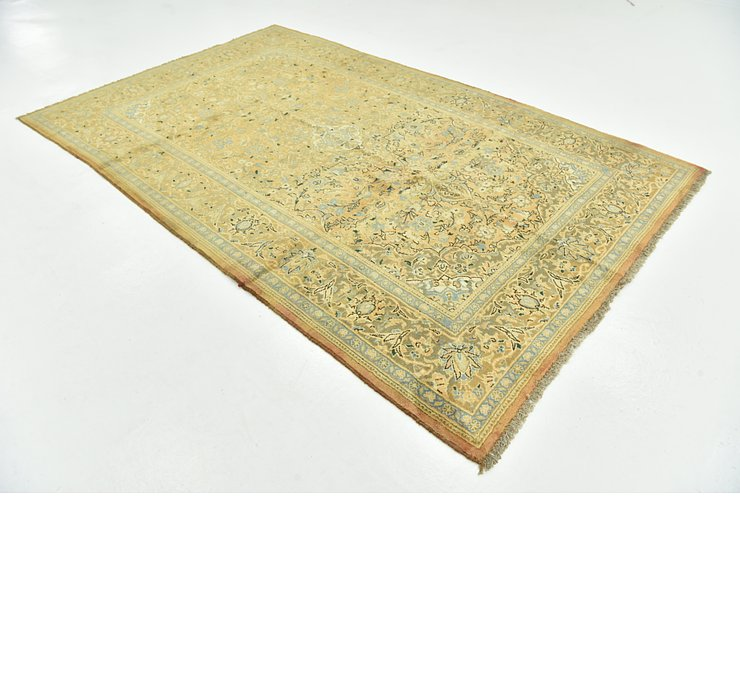 6' 3 x 10' 2 Sarough Persian Rug