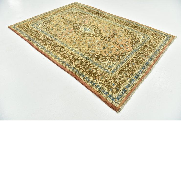 6' 7 x 9' 4 Mashad Persian Rug