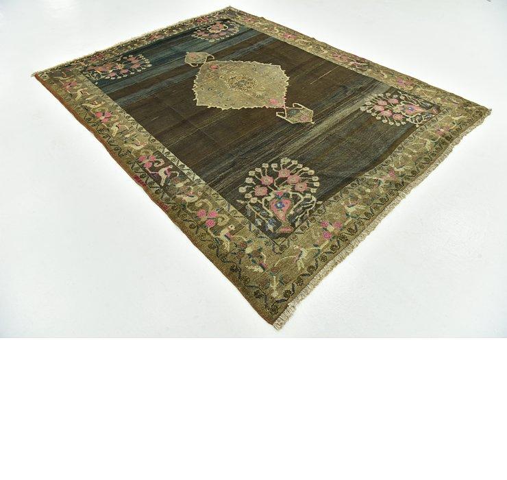 6' 10 x 8' 6 Hamedan Persian Rug
