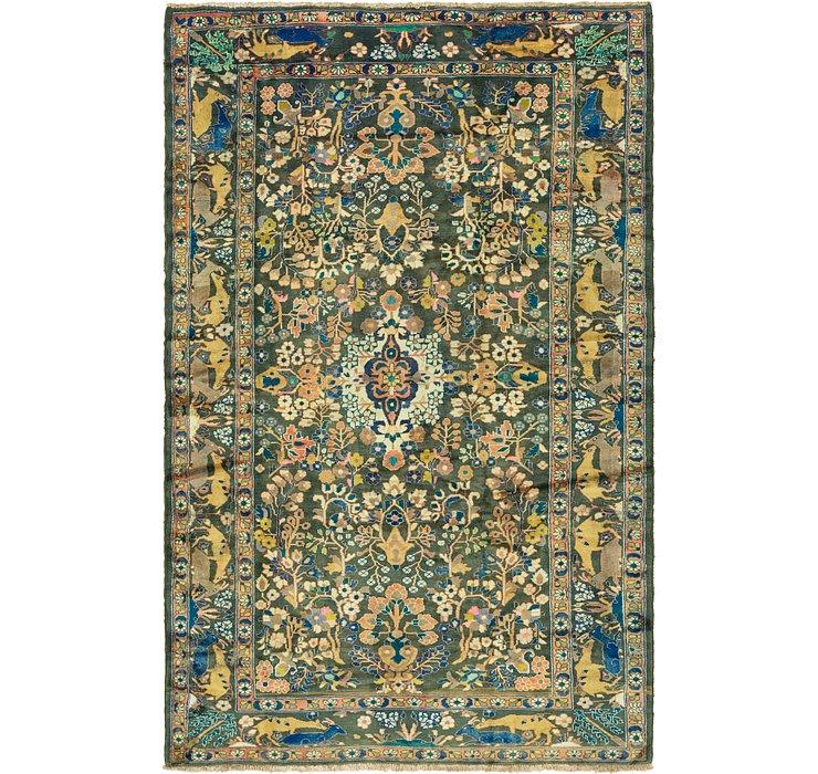 7' x 11' 4 Nanaj Persian Rug