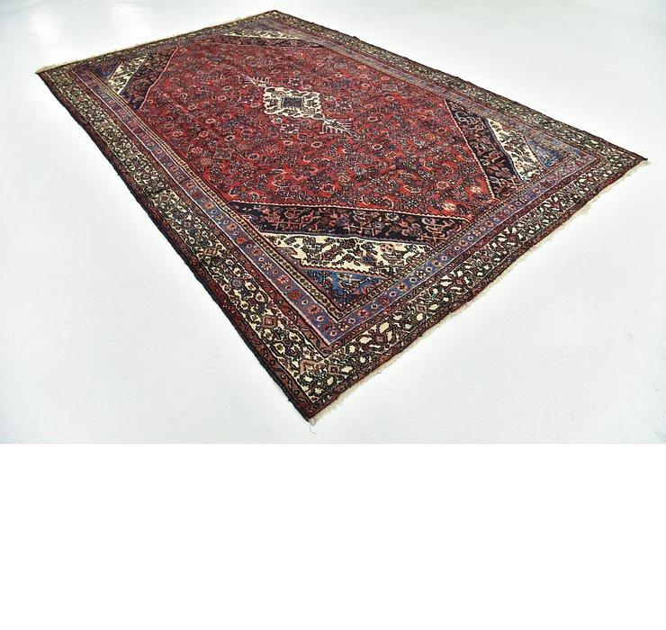 7' 7 x 11' 7 Hamedan Persian Rug