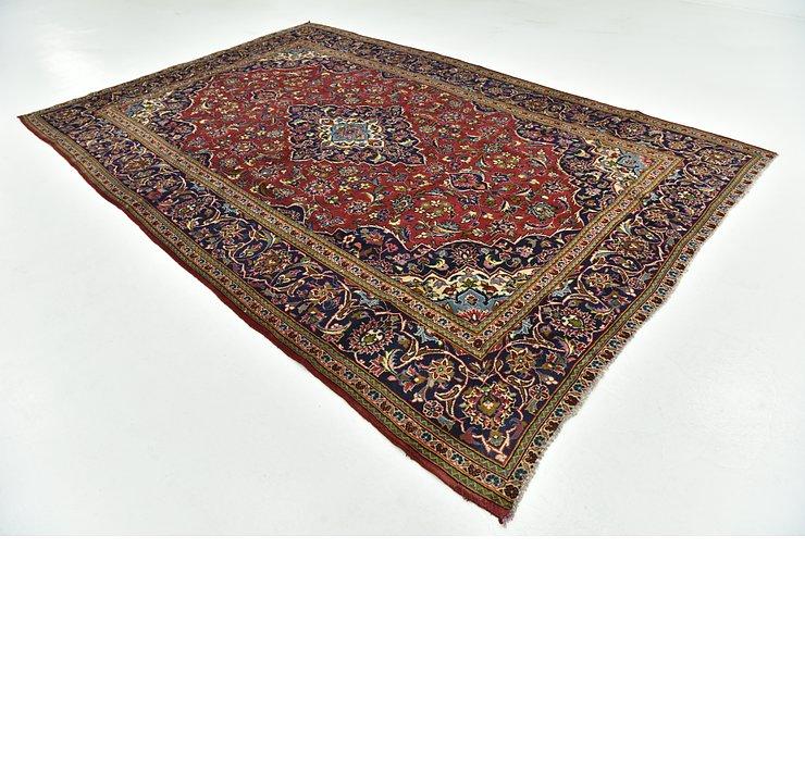 7' 10 x 11' 10 Kashan Persian Rug