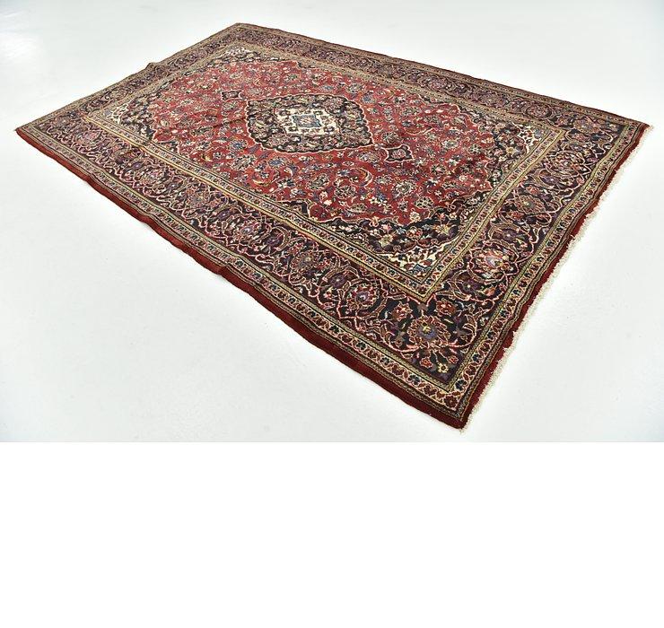6' 7 x 10' Kashan Persian Rug