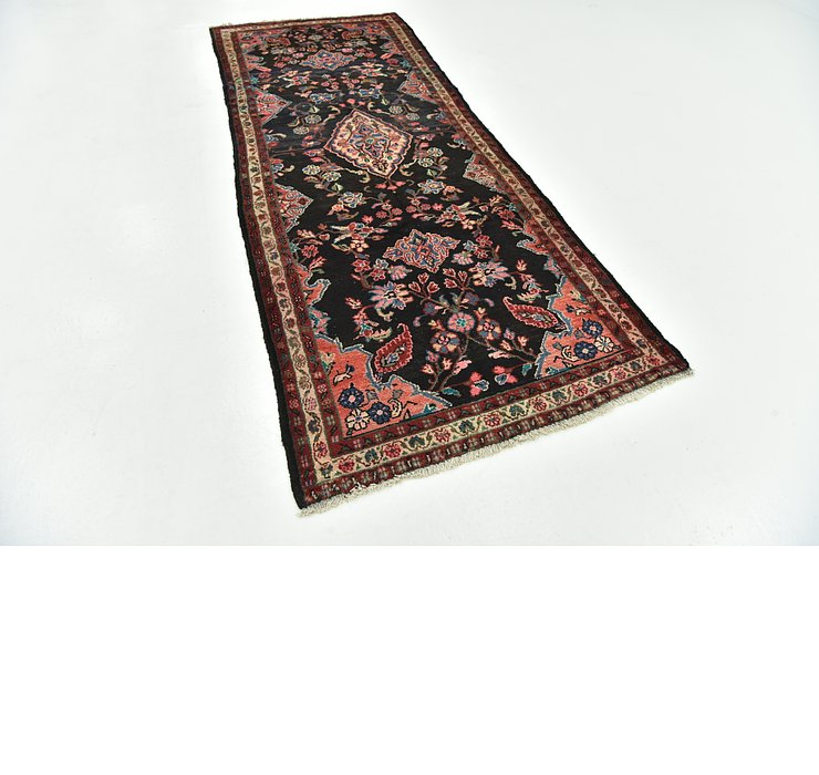 3' 10 x 9' 10 Hamedan Persian Runner ...