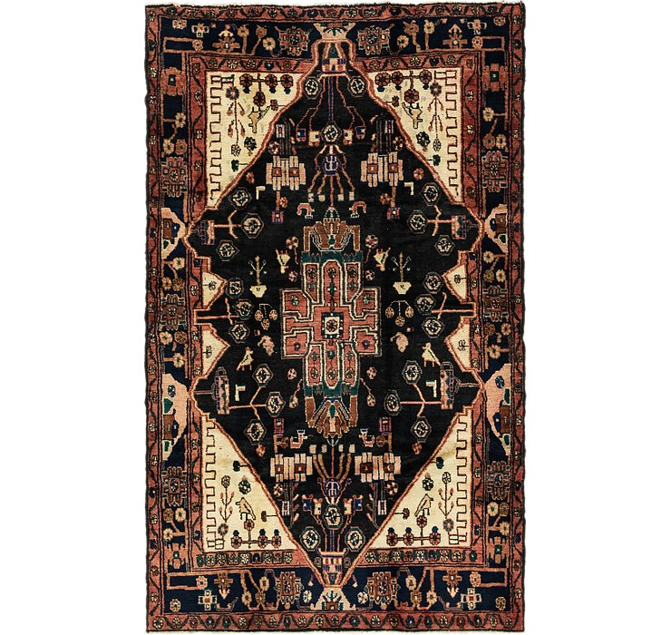 157cm x 260cm Nahavand Persian Rug