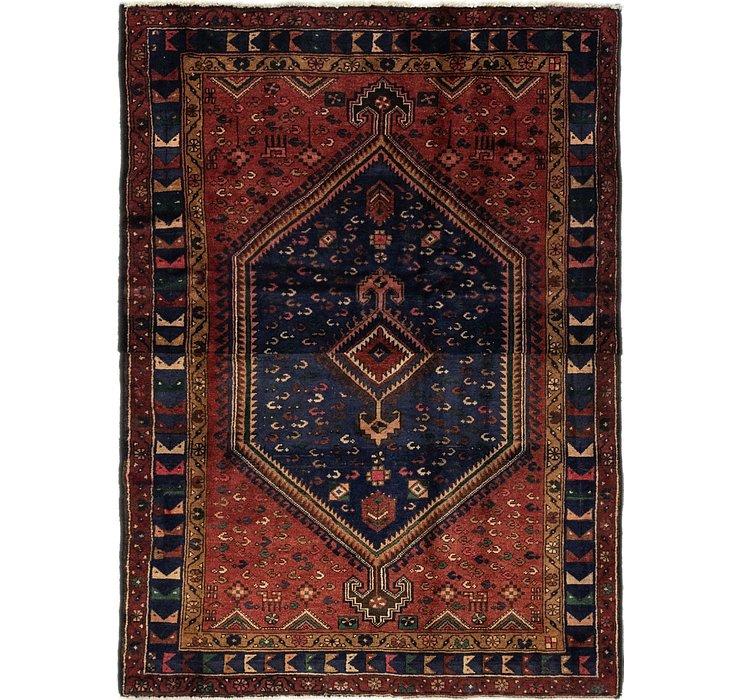 4' 5 x 6' 2 Zanjan Persian Rug