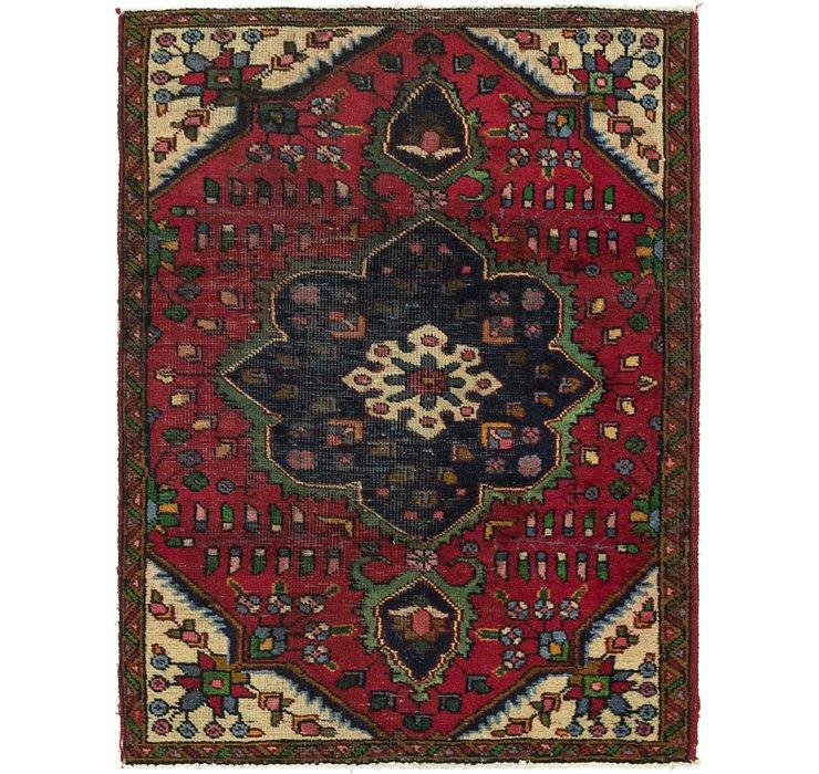 3' 5 x 4' 7 Tabriz Persian Rug