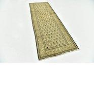 Link to 97cm x 282cm Tabriz Persian Runner Rug