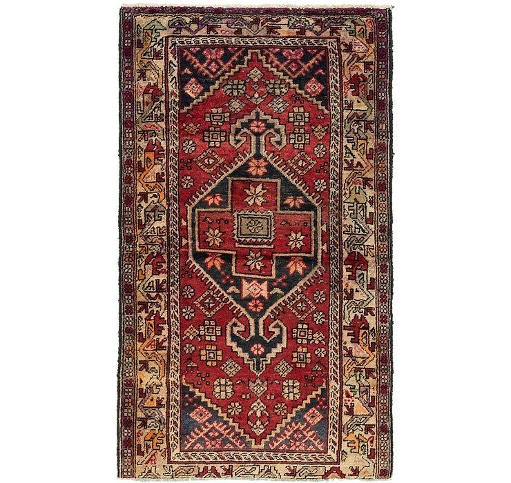 3' x 5' 9 Hamedan Persian Rug