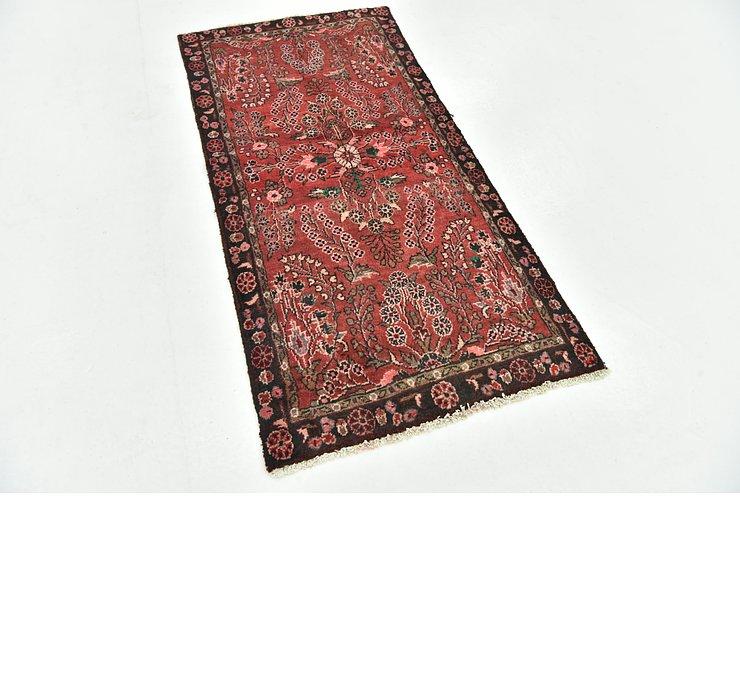 2' 7 x 5' 3 Hamedan Persian Rug