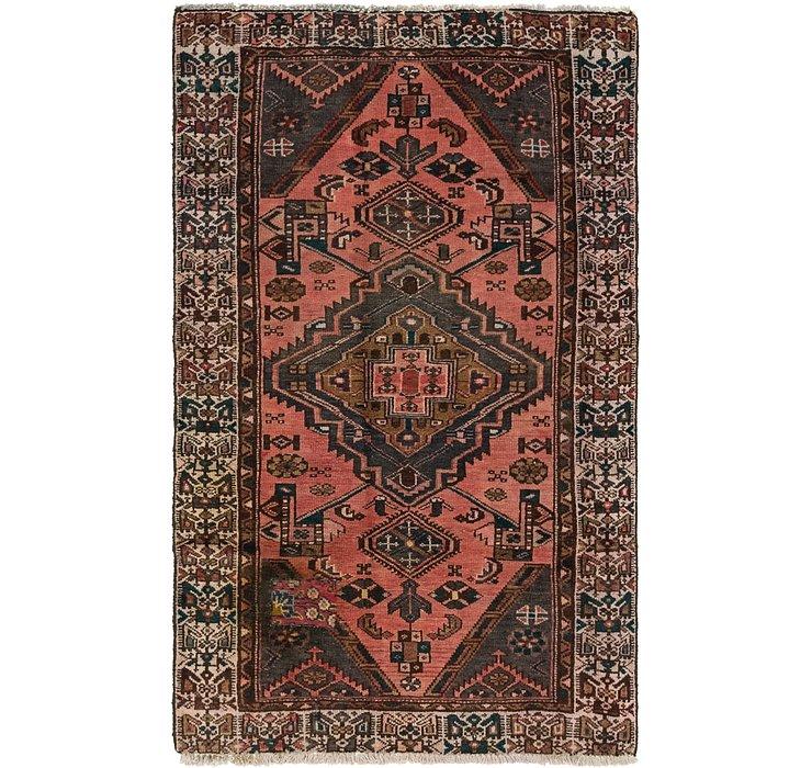 3' 10 x 6' 7 Hamedan Persian Rug